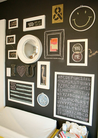 project nursery blackboard allages