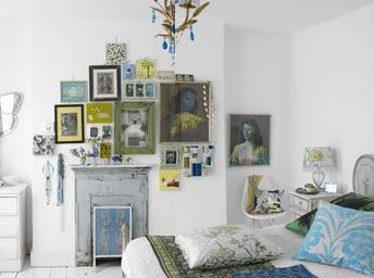 James+Merrell+white+bedroom eclectic