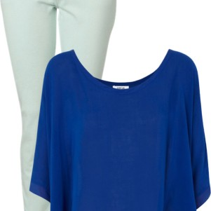 pantone color trend fashion spring 2013: grayed jade and monaco blue