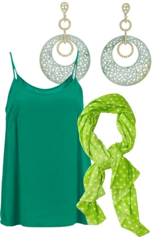 pantone color trend fashion spring 2013: emerald, tender shoots and grayed jade