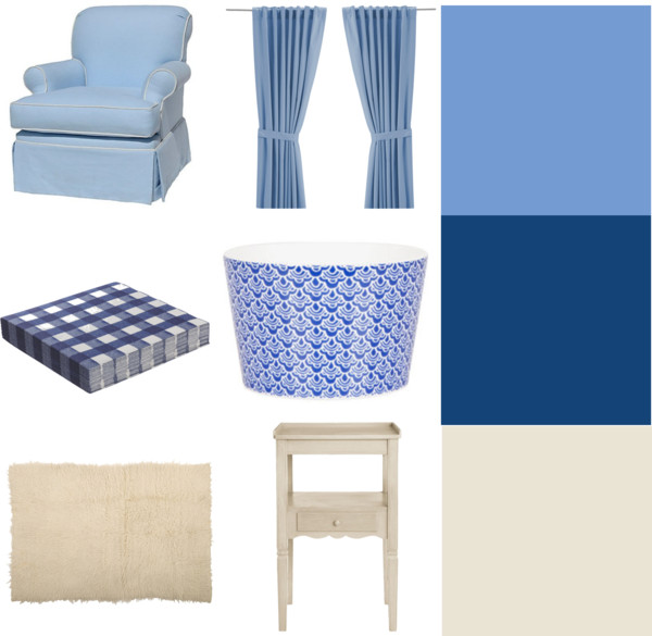 pantone color trend  spring 2013: dusk blue, monaco blue and linen