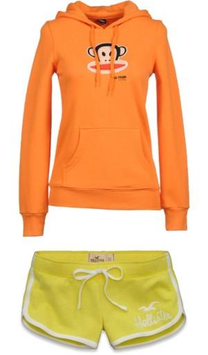 pantone color trend fashion spring 2013: nectarine and lemon zest