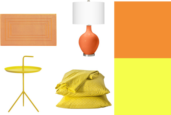 interior design pantone spring 2013 trend colors lemon zest and nectarine