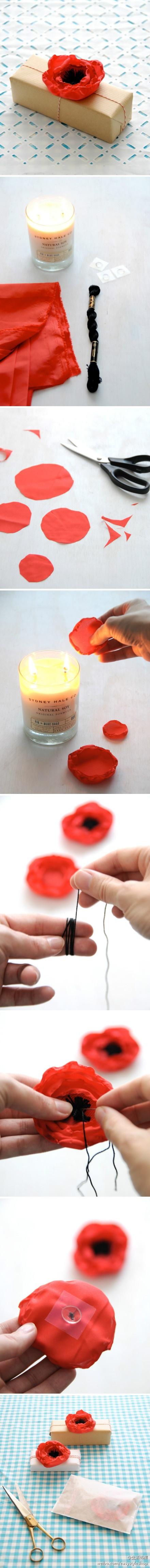 fabric anemones