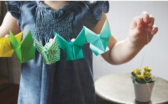 origamibunniesgarlant