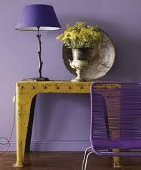 violet yellow