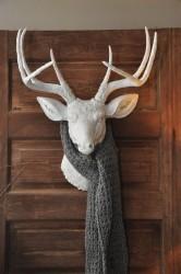 resin deer head 2