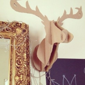 Oh Deer! (Deer head wall decor)
