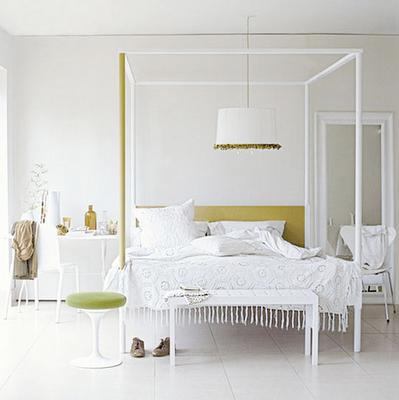 serene atmosphere in white