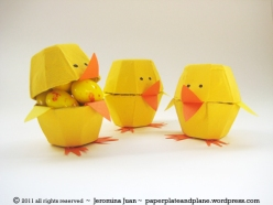 easter-egg-carton-chicks by paperplateandplane