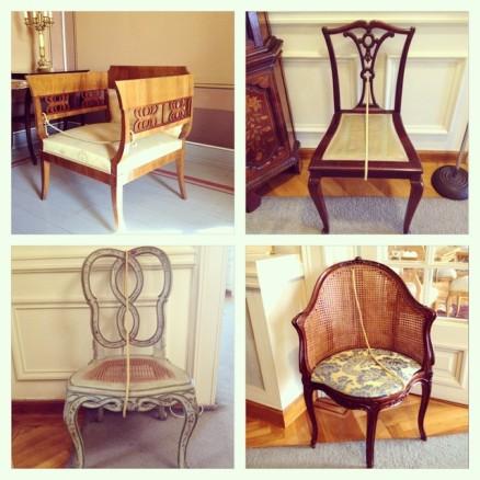 Tsoupress city of athens chairs