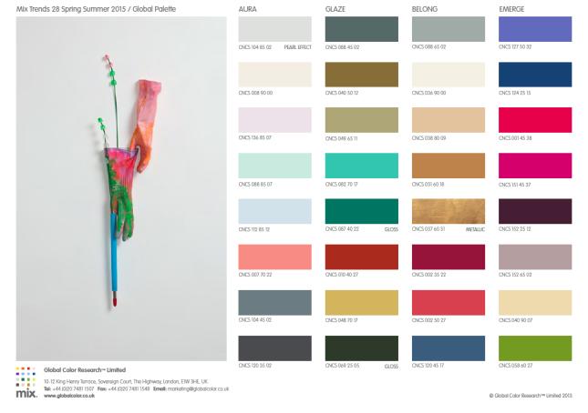 Global palette SS 2015