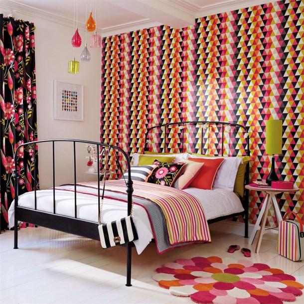 Harlequin Kaleidoscope Wallpaper