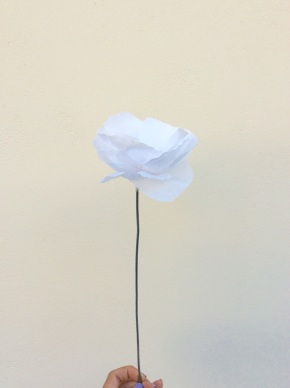 DIY: Χάρτινα λουλούδια για μια αναγνώστριά μας!/ How to make unique paperflowers