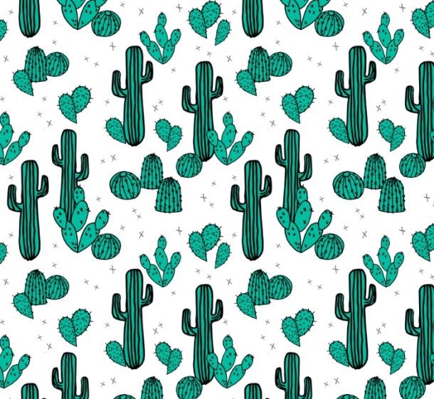 pattern cactus1