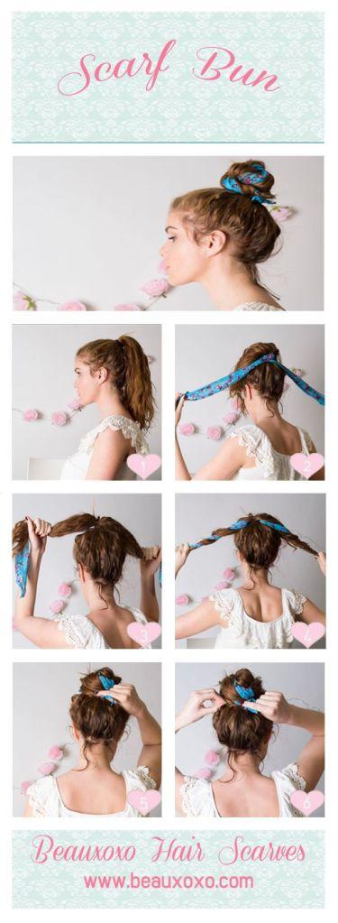 scarf-bun