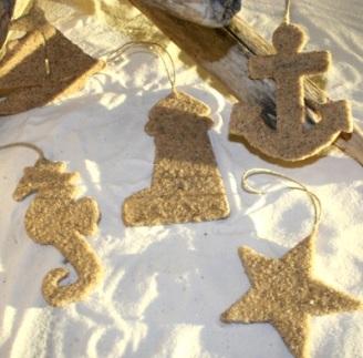 κρεμαστά απο άμμο