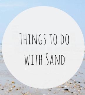 Μικρές ιδέες: DIY απο άμμο/ DIY: sand craftideas
