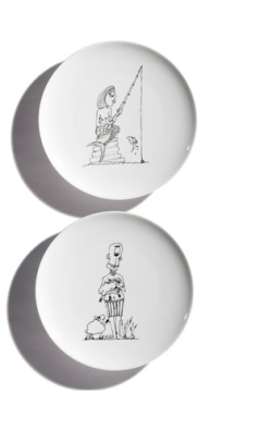 mythical plates - we design