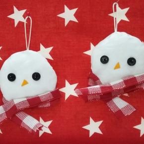Το πρώτο χριστουγεννιάτικο DIY –Χιονάνθρωποι