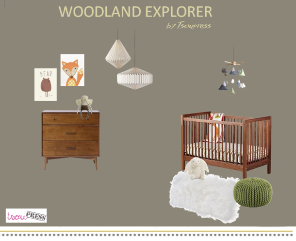 Woodland nursery Tsoupress