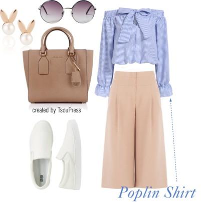 Poplin Shirt - tsoupress