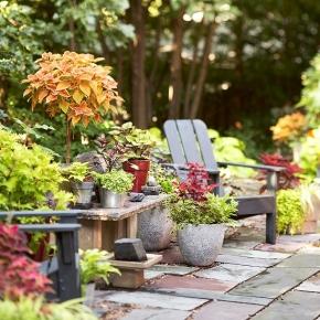 Πάμε για αγορές! Ιδέες για χαλάρωση στον κήπο/ Garden relaxideas