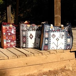 Καφές με τη rug bag designer ΝόταΣιστρίνη