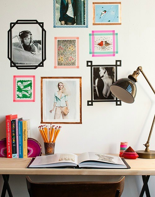 washi-tape-temporary-frames-ideas