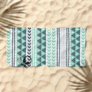 winter-stripe-beach-towels
