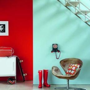 Γεμίστε έντονα χρώματα τους τοίχους!/ The right bold color combinations in thewalls