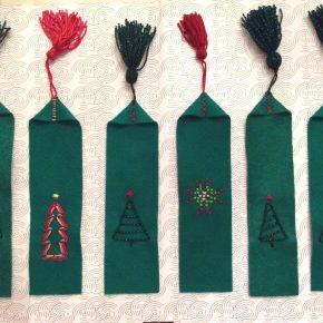 Δωράκια 2017: Χριστουγεννιάτικοι σελιδοδείκτες απο τις Tsoupress!/ Christmas gift DIY: Bookmarkers!