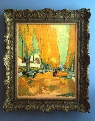 Vincent Van Gogh (Το Αλυσκάν, 1888)
